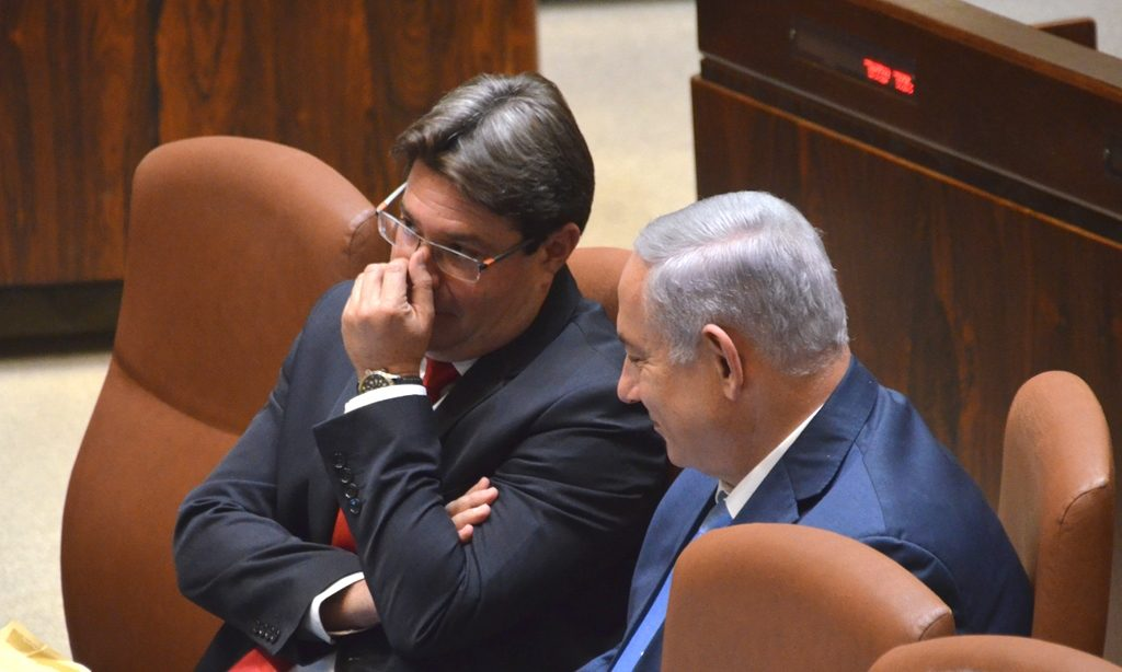 Ofir Akunis speaks with Prime Minister