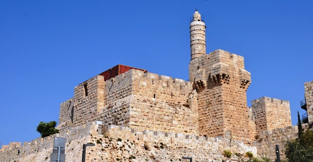 Tower of David citadel view