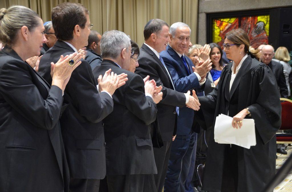 Mew Israeli Supreme Court President