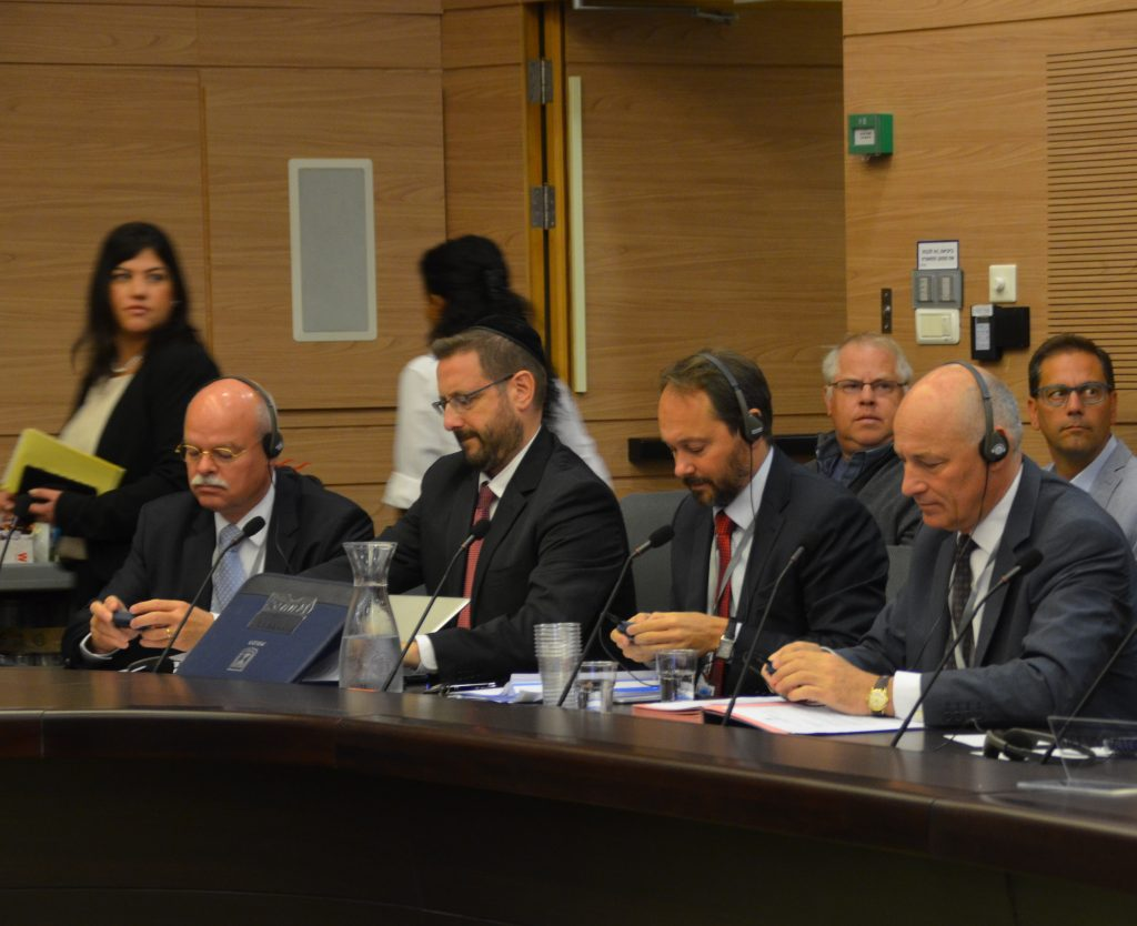 Knesset committee on antisemitism German, Austria and EU speak