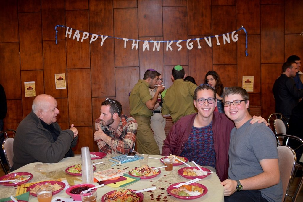 Thanksgiving dinner lIDF one soldiers