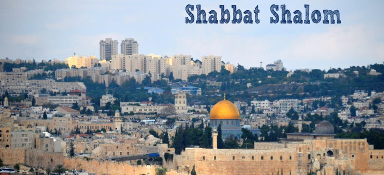 Sigd and Shabbat Shalom
