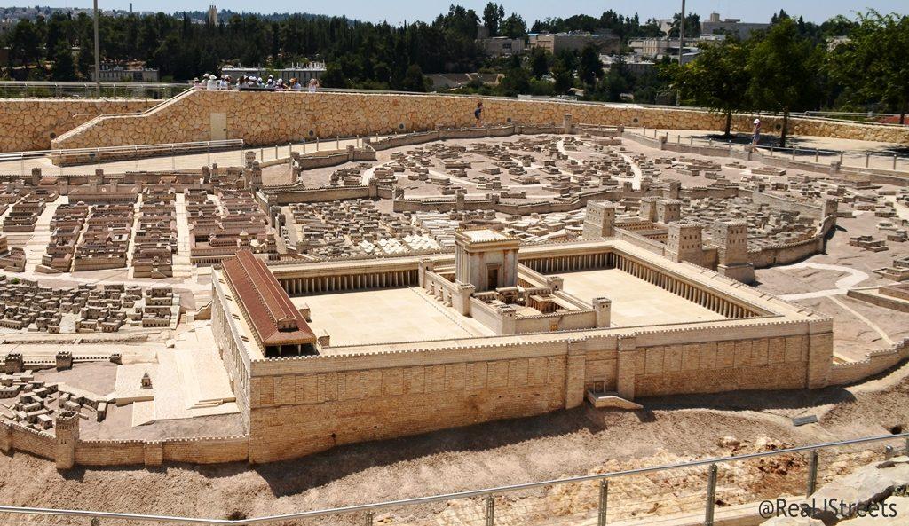 Beit Hamikdash model at Israel Museum