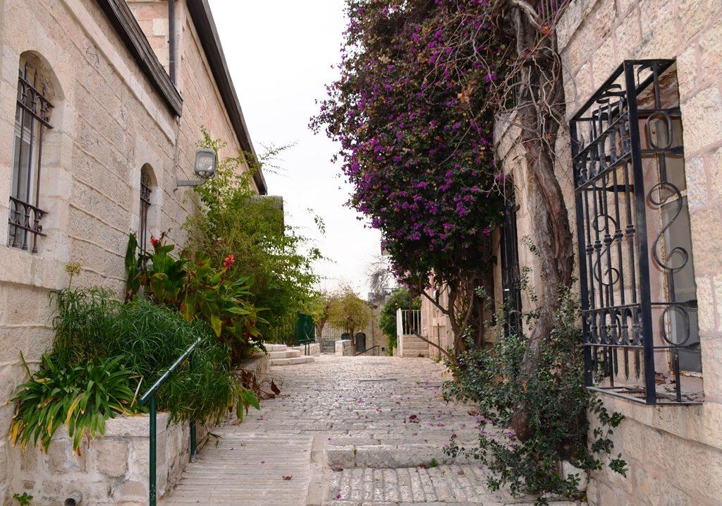 Yemin Moshe stairs