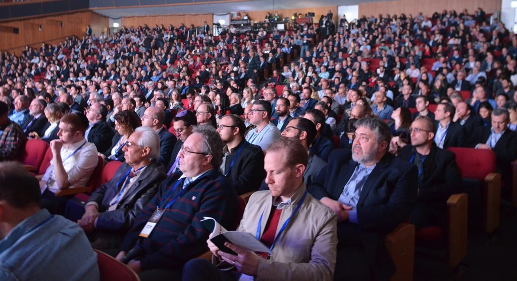 Audience at Our Crowd Global Summit in Jerusalem 2018