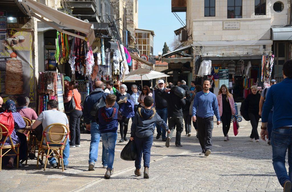 Arab Market near Jaffa Gate.