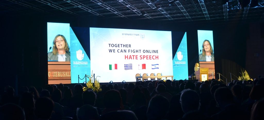 Global Forum against antisemitism in Jerusalem opening plenary