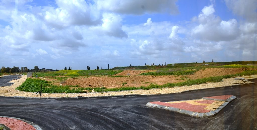 Land for homes Kfar Darom Gush Katif to rebuild