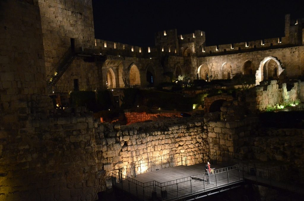 Introducing KING DAVID new sound and light show Tower of David
