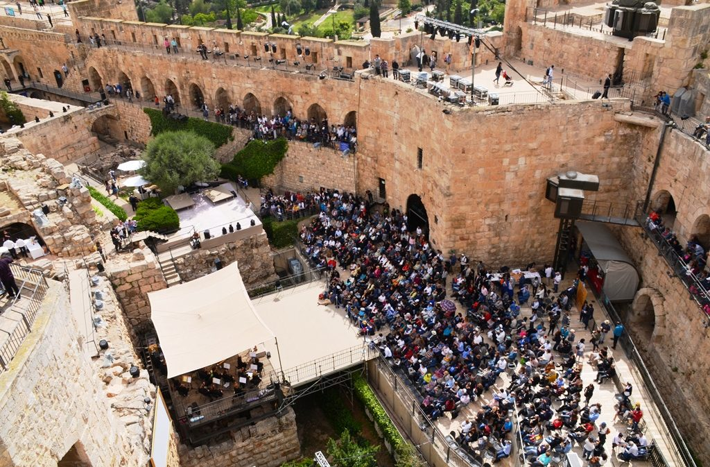 Music event on Jerusalem Day in Tower of David