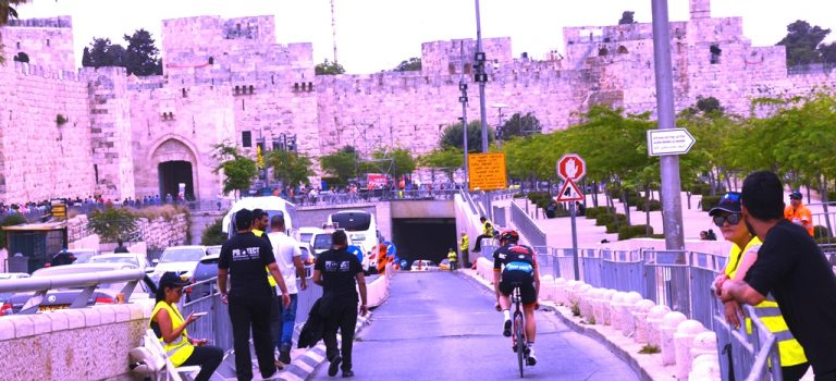 Giro d'Italia 2018 from Jerusalem to Eliat
