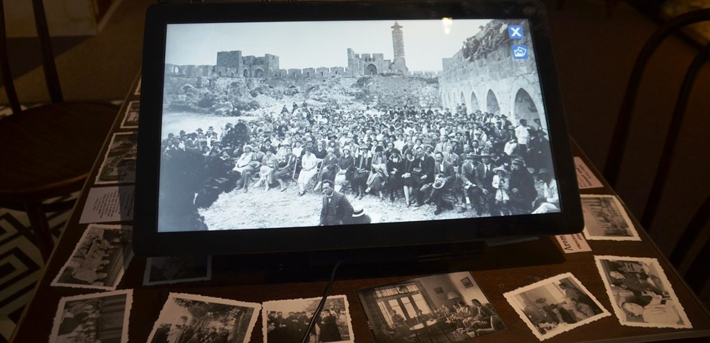 Tower of David London in Jerusalem, photos from early British years