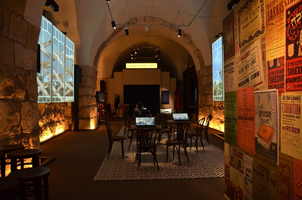 Social and cultural exhibit at Tower of David Museum London in Jerusalem