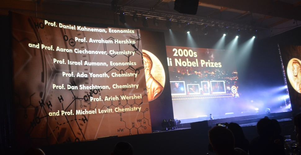 List of Nobel Prize winners from Israel