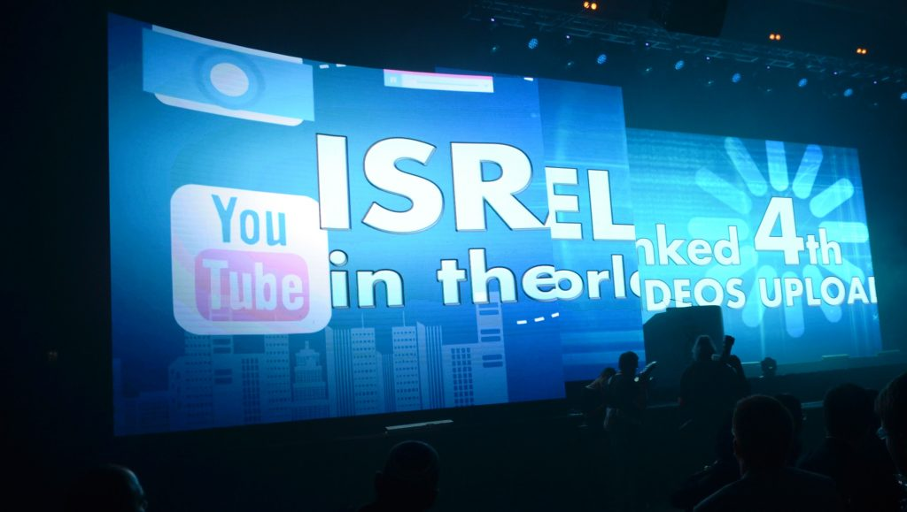 Facebook uploaded videos Israel fourth in world