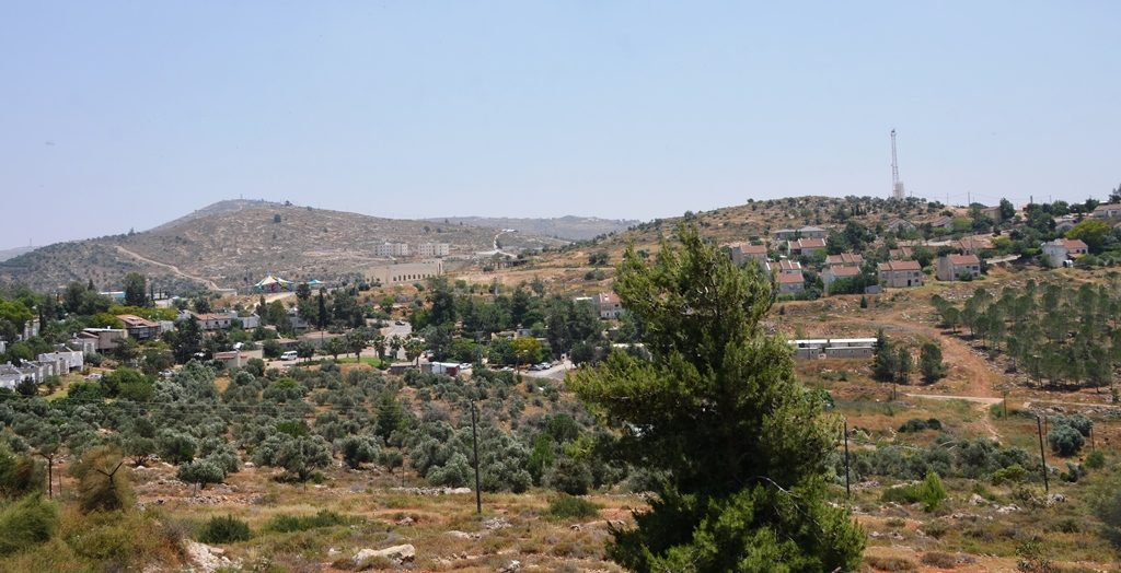 Itamar view of part of town