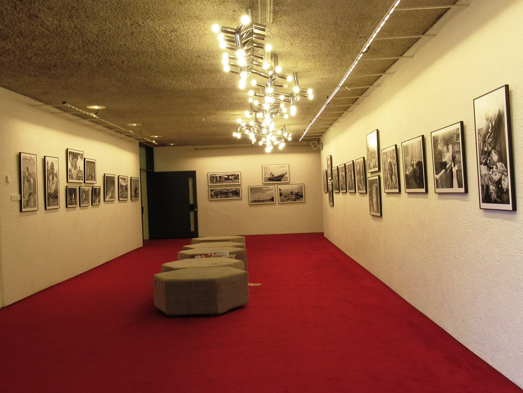 Jerusalem Theatre art display Ethiopian photos