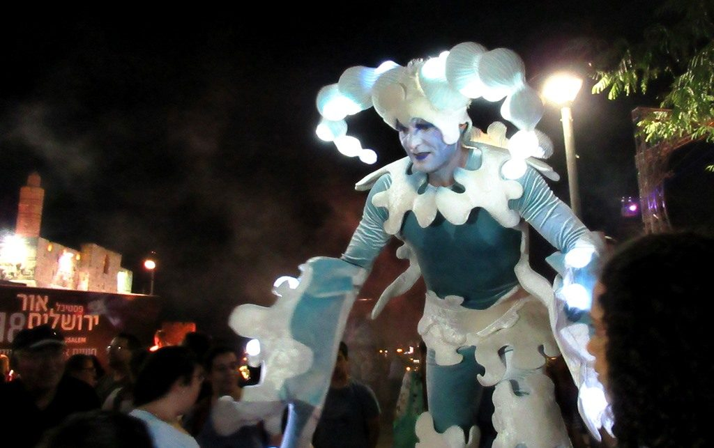 Jerusalem Light Festival costume
