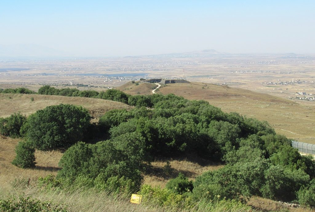View of Syria from Golan Heights