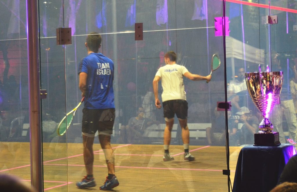 Israeli Squash Tournament at Jaffa Gate