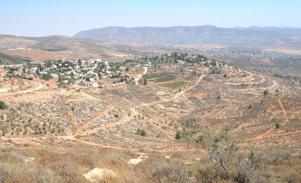 View in YESHA, West Bank