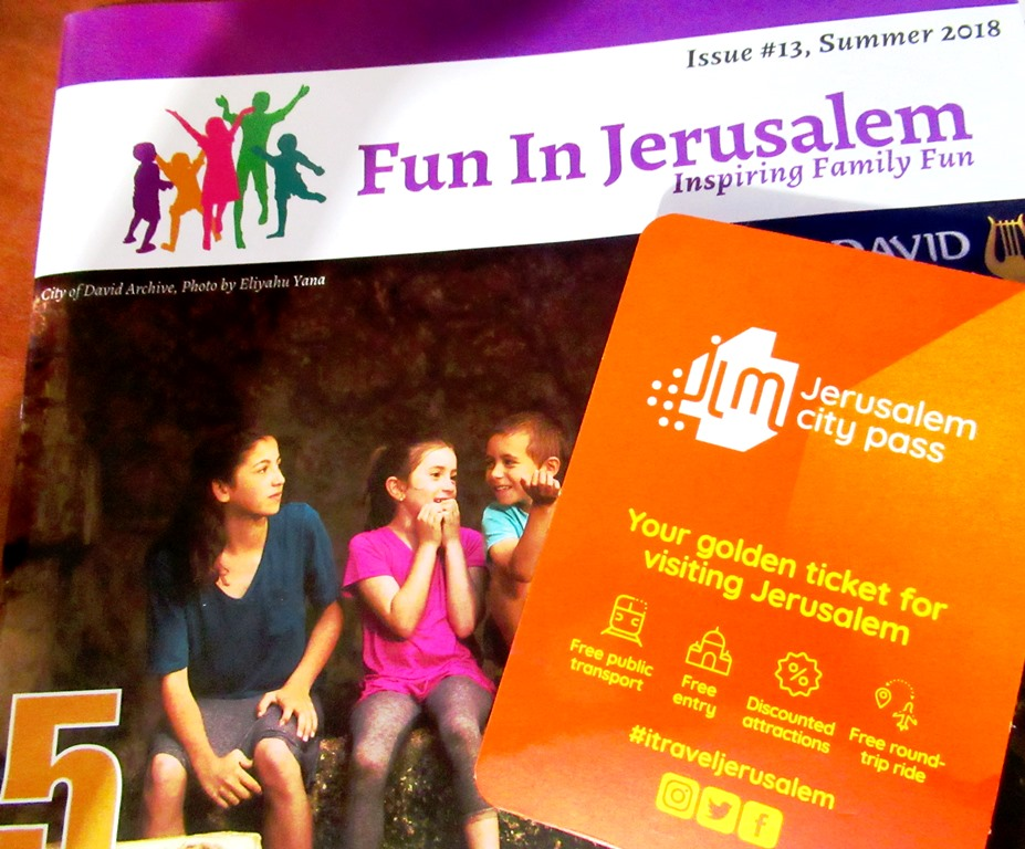 Fun in Jerusalem and Jerusalem City Pass Card