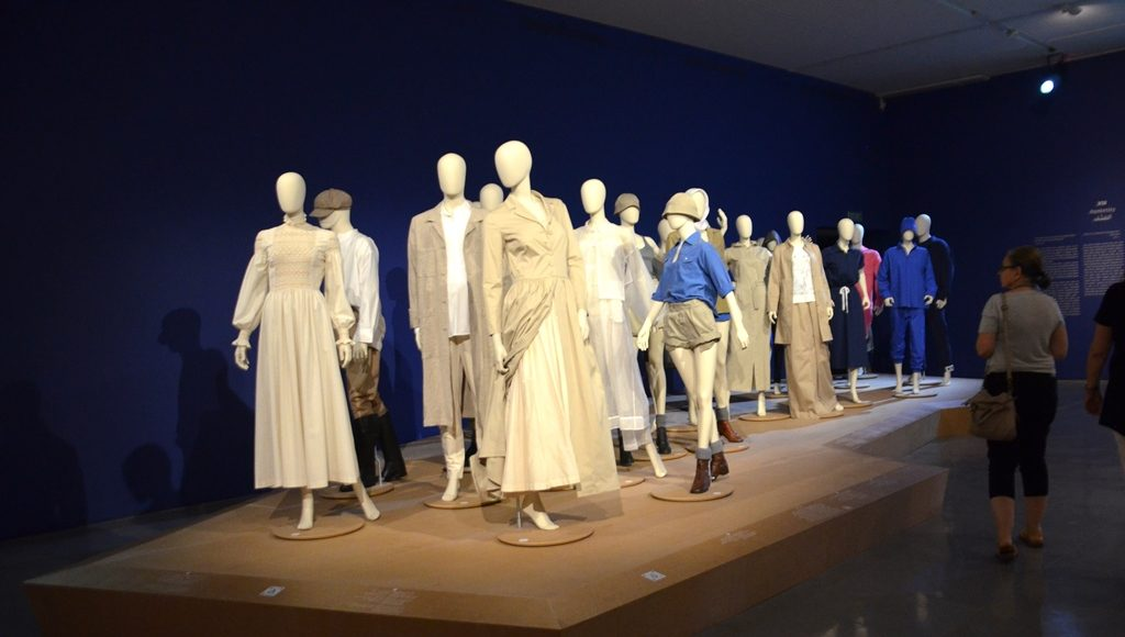 Exhibit on Israeli fashion at Israel Museum