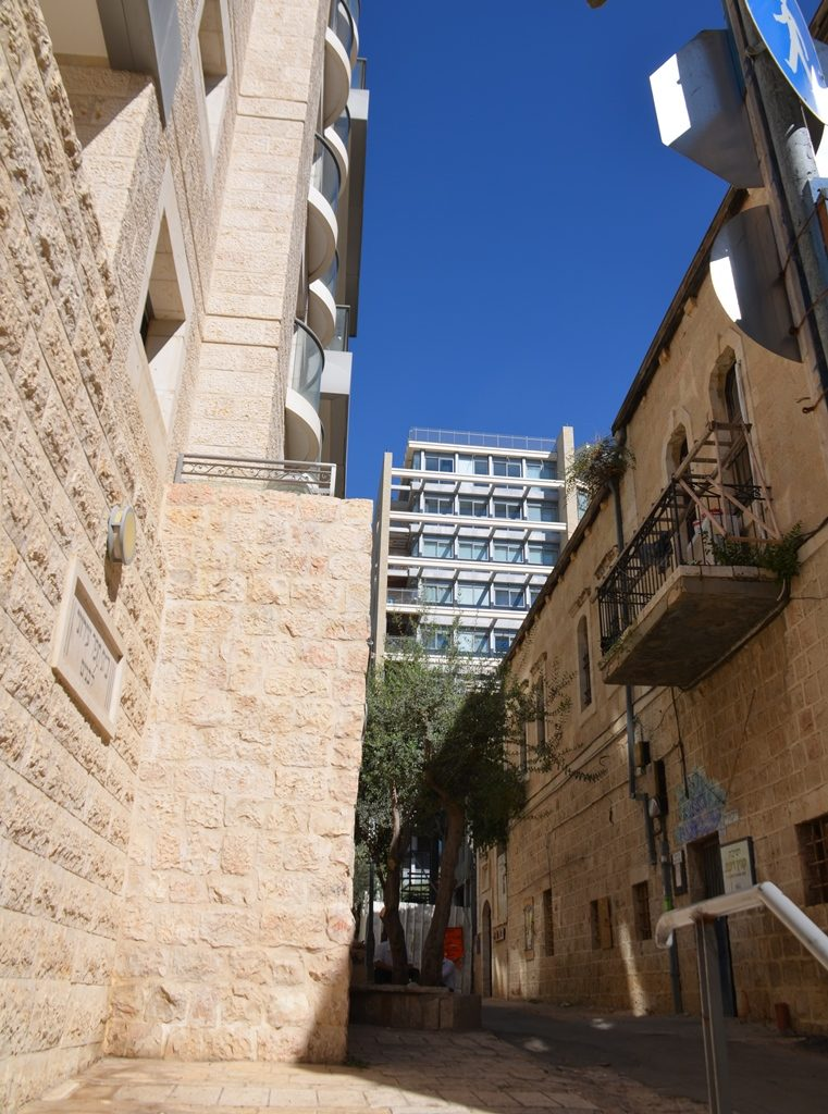 New buildings on Harav Kook Street