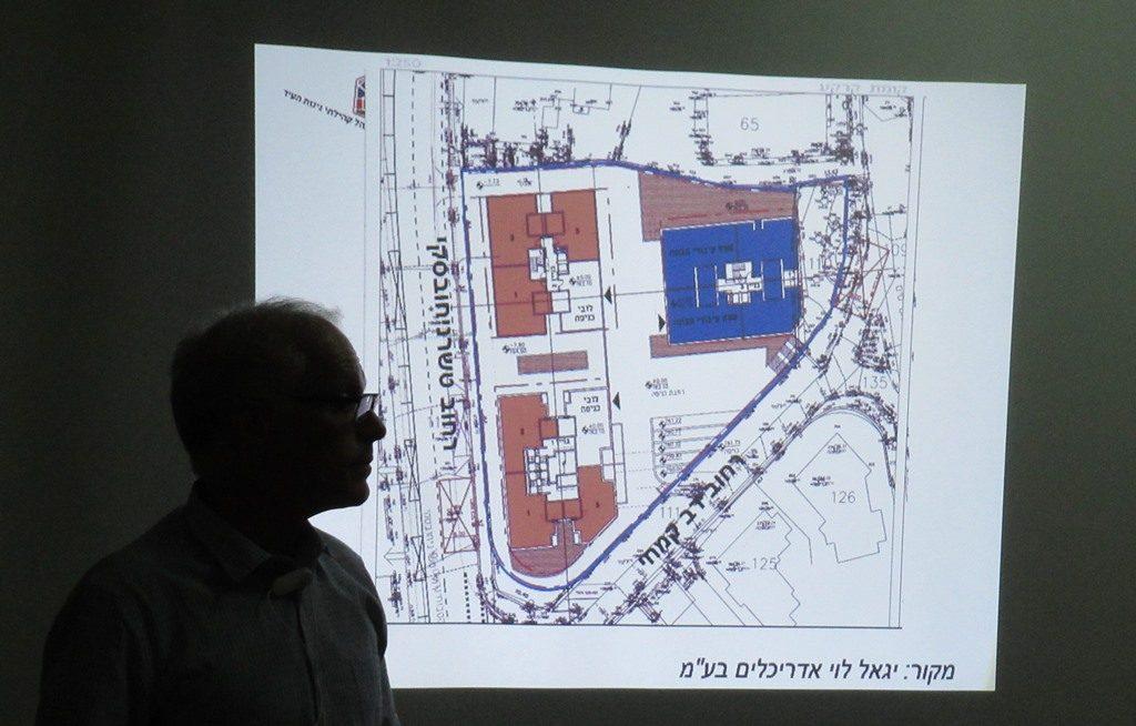 Jerusalem Israel Dov Kimche Street project