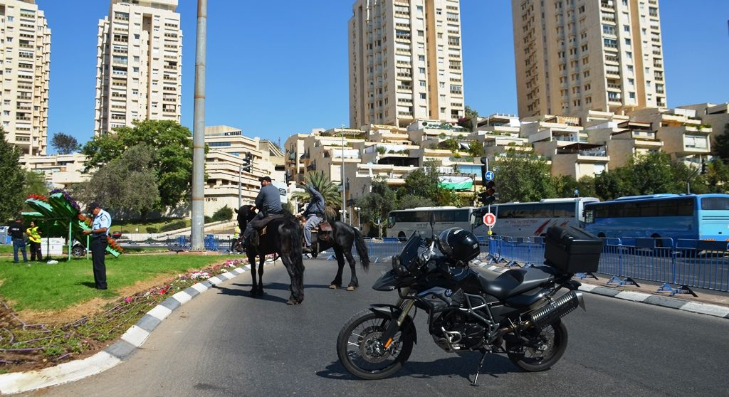 Jerusalem Parade security