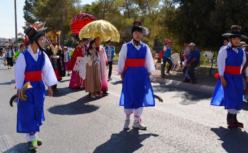 Jerusalem Parade costumes