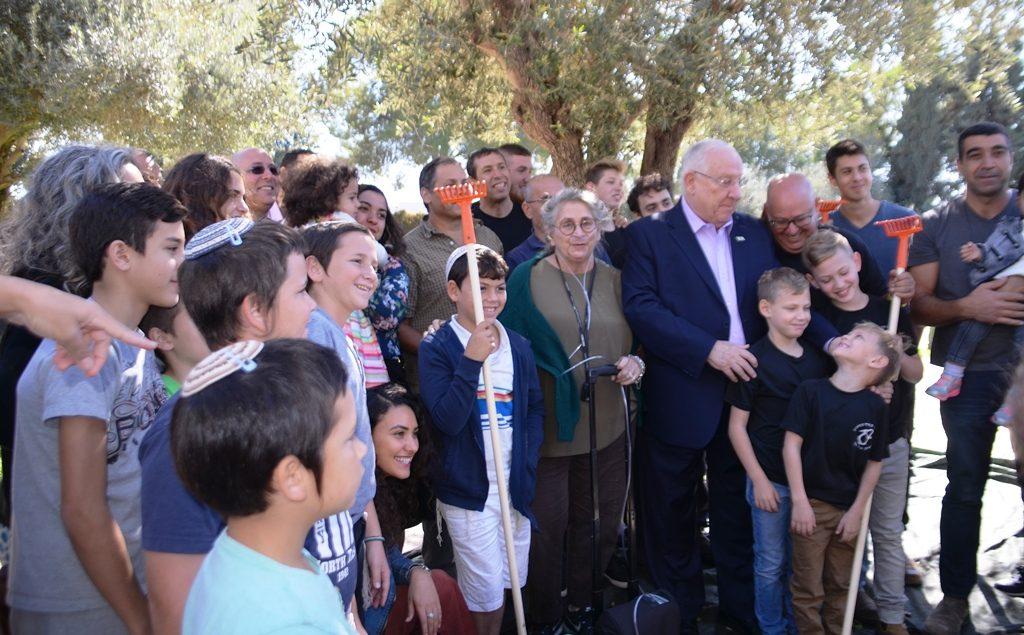 Israel President at Biet Hanasi