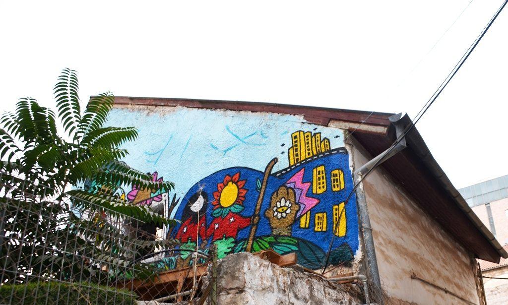 Jerusalem Israel graffiti