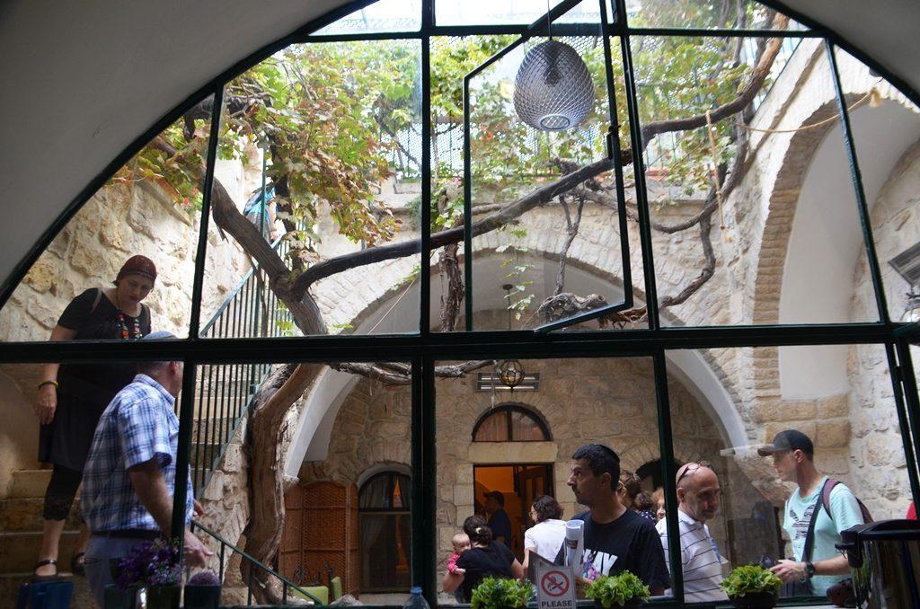 Villa Mamilla interior in Jerusalem Israel