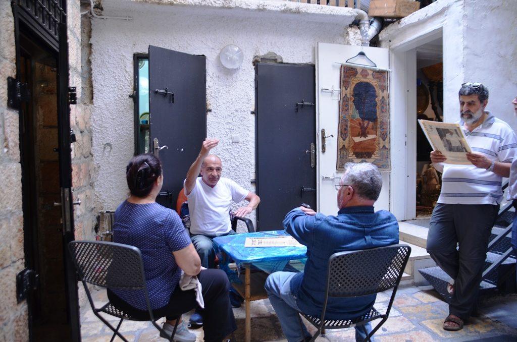 Jerusalem Israel scene in a house