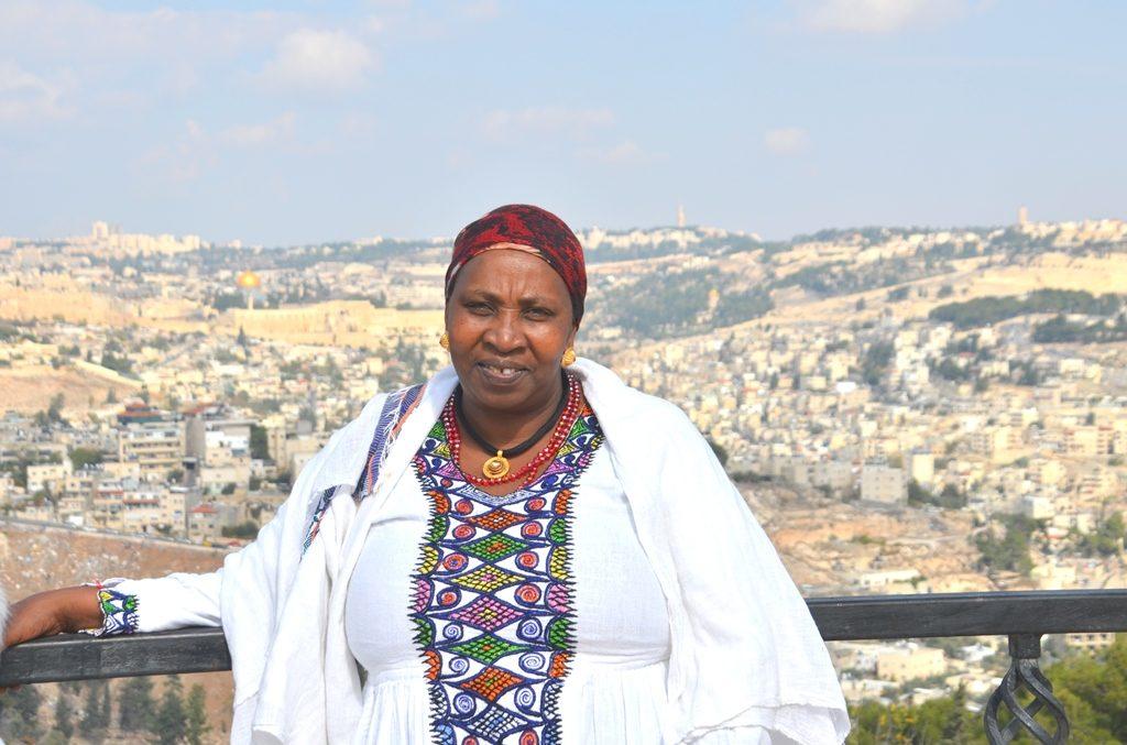 Sigd Ethiopian festival in Jerusalem Israel