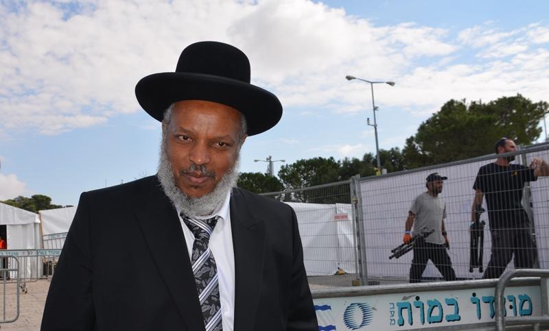 Jerusalem Israel Ethiopian Israeli rabbi Rav Shaul