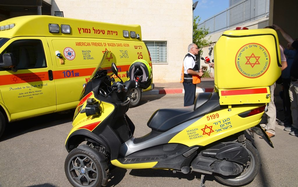 MDA in Sderot ready during crisis