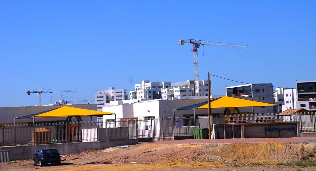 Bomb shelters in school in Ashkelon Israel