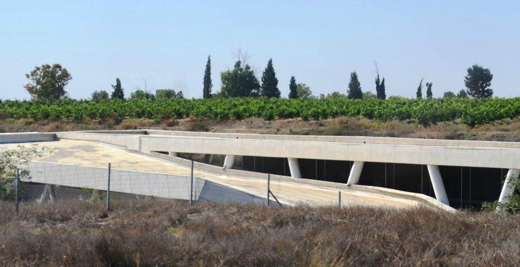 Sderot train station is bomb shelter Israel