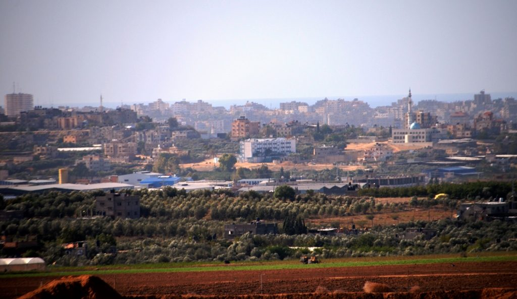 Northern Gaza near Israel border