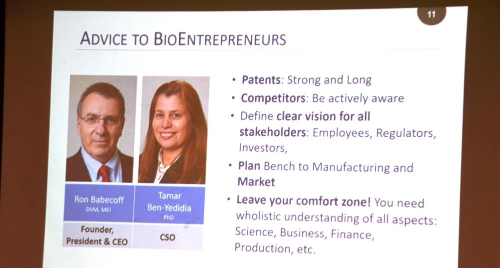 Advise for biomed tech startups