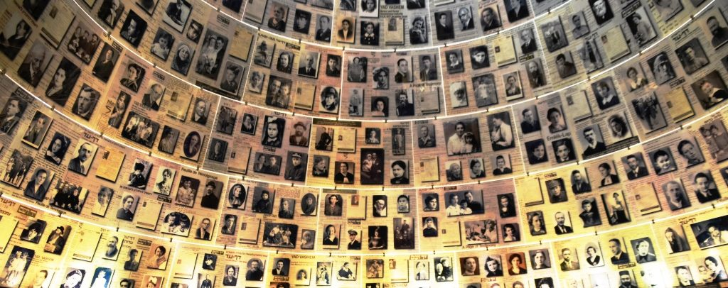 Yom Hashoa victims photos at Yad Vashem