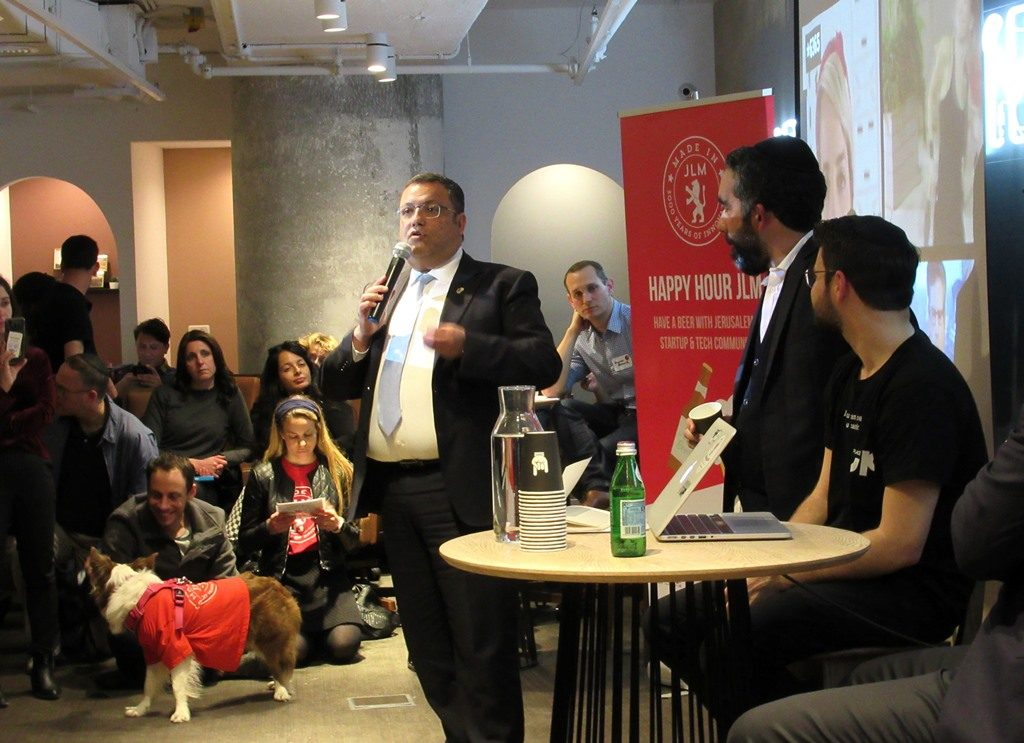 Opening event at Jerusalem Urban Place cowork space