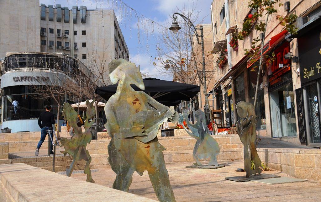 Jerusalem Israel street art piece