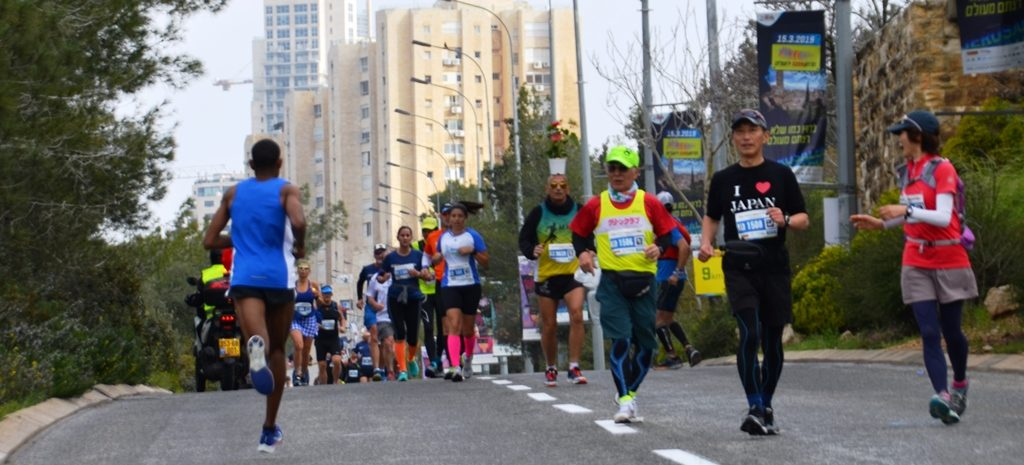 Jerusalem Half marathon leaders