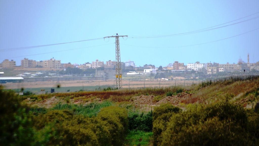 Kibbutz Alumim view of Gaza southern Israel