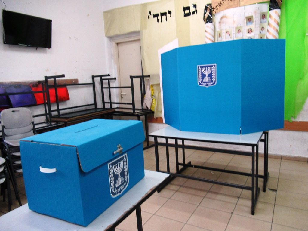 Elections for Knesset in jerusalem