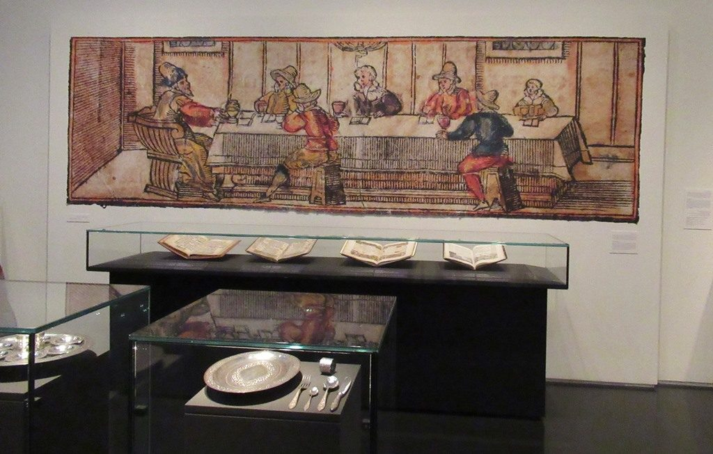 Pesach section in Israel Museum