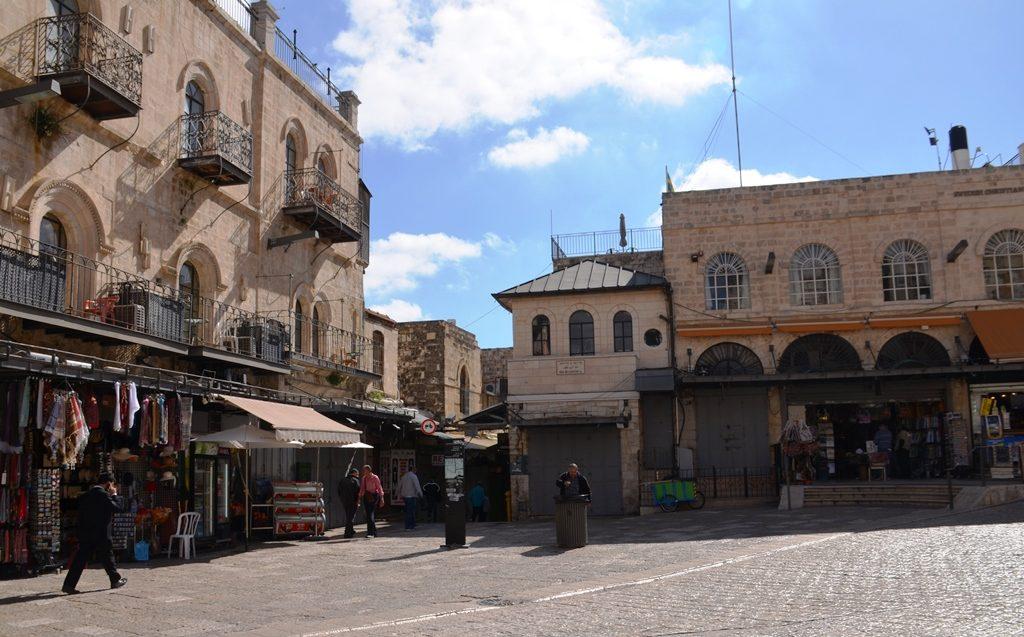 Jerusalem Israel inside Jaffa Gate